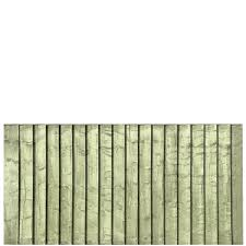 Tanalised Featheredge Fence Panel 6 Wide X 3 High A P Fencing