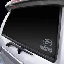 Green Bay Packers Chrome Window Graphic Decal Detroit Game Gear