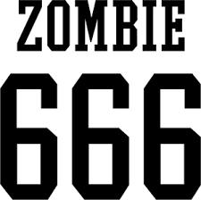 Rob Zombie 666 Logo Decal Custom Decals Vinyls Pro Sport Stickers Car Decals