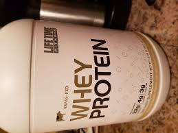 lifetime fitness whey protein tary