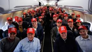 Image result for carson in GOP bus Iowa images