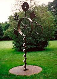 metal gardens art ideas