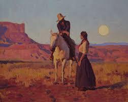 "Legacy Gallery - Glenn Dean, ""Setting Sun, Rising Moon"",... | Facebook"
