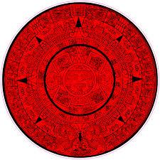 Aztec Calendar Decal U S Custom Stickers