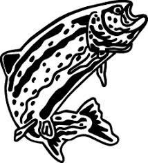 Trout Decal Fsn1 233 Boat Truck Window Stickers Wildlife Decal