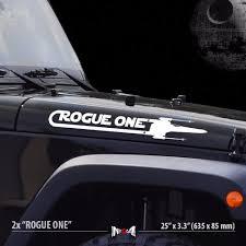 2x Rogue One X Wing Squadron Star Wars Car Vinyl Stripes Sticker Decal Set Ebay Star Wars Decal Star Wars Jeep Star
