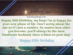 50th birthday wisheessages with love