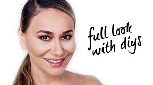diy full face makeup tutorial using