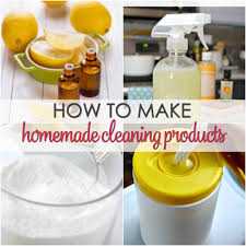 how to make homemade cleaning s