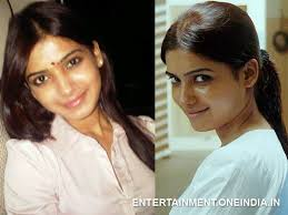 samantha without makeup saubhaya makeup