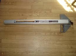 Craftsman 113 Or Ridgid Ts2424 Align A Rip Table Saw Rip Fence And Rails Xr 2424 1814257131