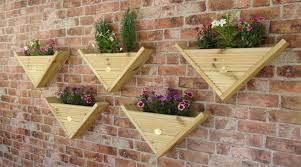 90 Triangle Wall Hanging Fence Post Mounted Decking Planter Corner Cover Option Milton Keynes
