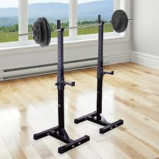 bar barbell squat stand stands spotter