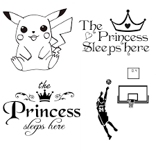 Digimon Pokemon Inspirational Quotes English Poetry Decorative Wall Stickers Bedroom Dormitory Decorative Sofa Stickers Mural Wall Stickers Aliexpress