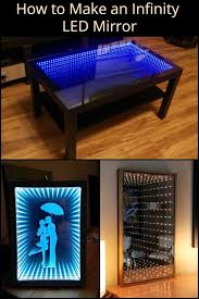 how to make an infinity led mirror
