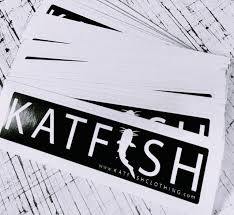 Katfish Classic Black Decal Katfish Clothing