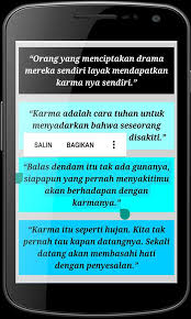 kata kata karma for android apk