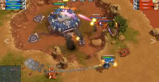 sci fi rts chrome browser game