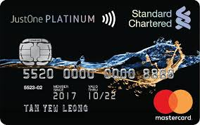 standard chartered credit cards