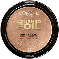 l oreal paris crushed foils metallic