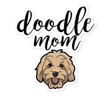 Goldendoodle Decal Goldendoodle Sticker Golden Doodle Etsy