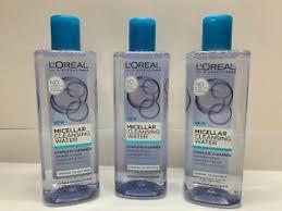 l micellar cleansing water makeup