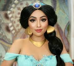 princess jasmine makeup micephan