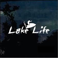 Lake Life Jet Ski A2 Decal Sticker Midwest Sticker Shop