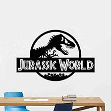 Amazon Com Jurassic World Wall Decal Jurassic Park Vinyl Sticker Dinosaur T Rex Wall Art Design Housewares Kids Room Bedroom Decor Removable Wall Mural 57zzz Home Improvement