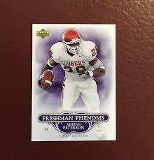 2007 Upper Deck First Edition Freshman Phenoms Adrian Peterson Rookie | eBay