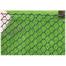 Synthatic Green Plastic Fencing Rs 25 Square Feet Mecas Facility Management Services Id 13518047255