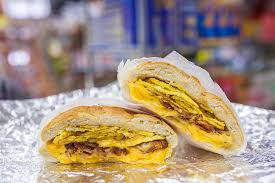my bacon egg and cheese