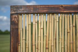 Bamboo Fence Panel With Frame 1 82m X 1 8m 6ft X 6ft By Papillon 47 99