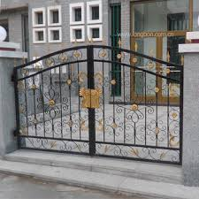 2017 Top Selling Modern Sliding Wrought Iron Gate Design For Drive Way View Iron Gate Design For Drive Way Longbon Product Details From Foshan Longbang Metal Products Co Ltd On Alibaba Com