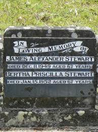 Bertha Priscilla Stewart (Griffiths) (1885 - 1952) - Genealogy