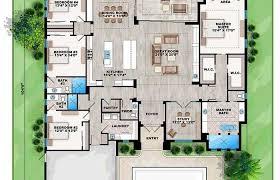 garages room mediterranean house plans