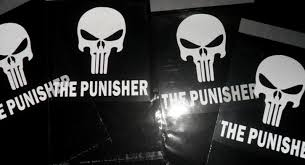 Free Marvel The Punisher Car Decal Gin Bonus 3 5 Pvc Figure Card Gift Set Or Lanyard Other Toys Hobbies Listia Com Auctions For Free Stuff