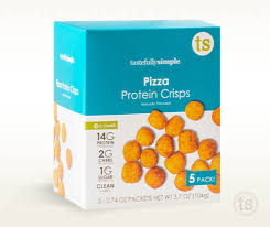 pizza protein crisps good sources of