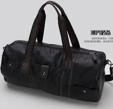 travel bag men s vintage duffel bag