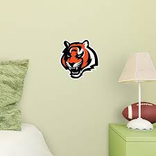 Fathead Nfl Cincinnati Bengals Tiger Logo Large Wall Decal Bed Bath Beyond