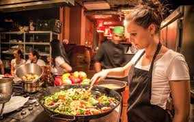 Great food, chef, people and price. - Review of Paella Cooking ...