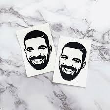Drake Vinyl Decal Car Decal Laptop Decal Tumbler Decal In 2020 Vinyl Decals Car Decals Vinyl Laptop Decal