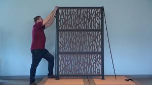 How To Install Rdi Decorative Screen Panel Frame Kit Youtube