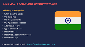 oci card vs india visa apply for a