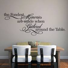 Shop The Fondest Memories Kitchen Wall Decal 60 X 22 On Sale Overstock 10050374