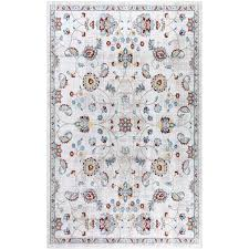 Shop Modern Floral Rug Contemporary Area Rugs For Kid S Room Overstock 31415232