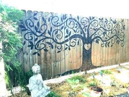 large outdoor wall art ideas spsnet co