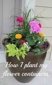plant a front door flower planter