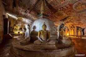 historical cave temple in sri lanka