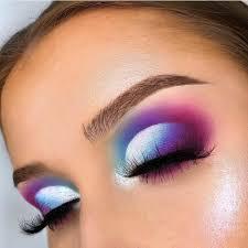 colourful eye makeup looks saubhaya